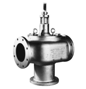 3-Way Thermostatic Temperature Control Valve Model D