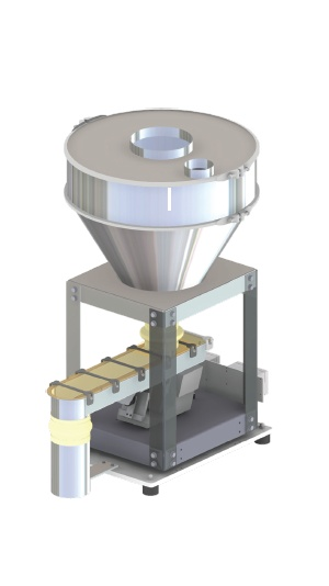 Brabender Vibrating Tray Feeder