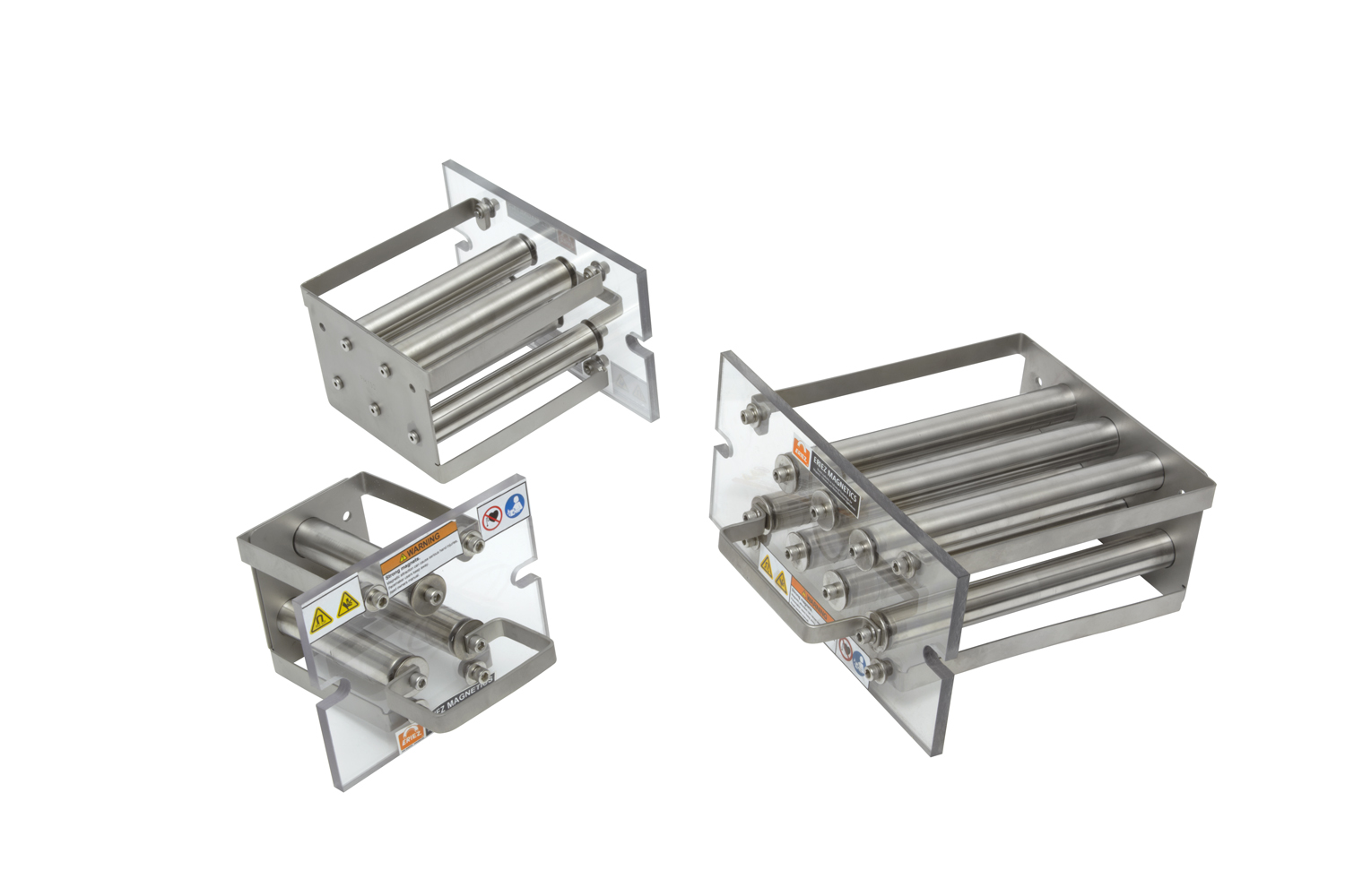 Permanent Grate Magnet 3 drawers
