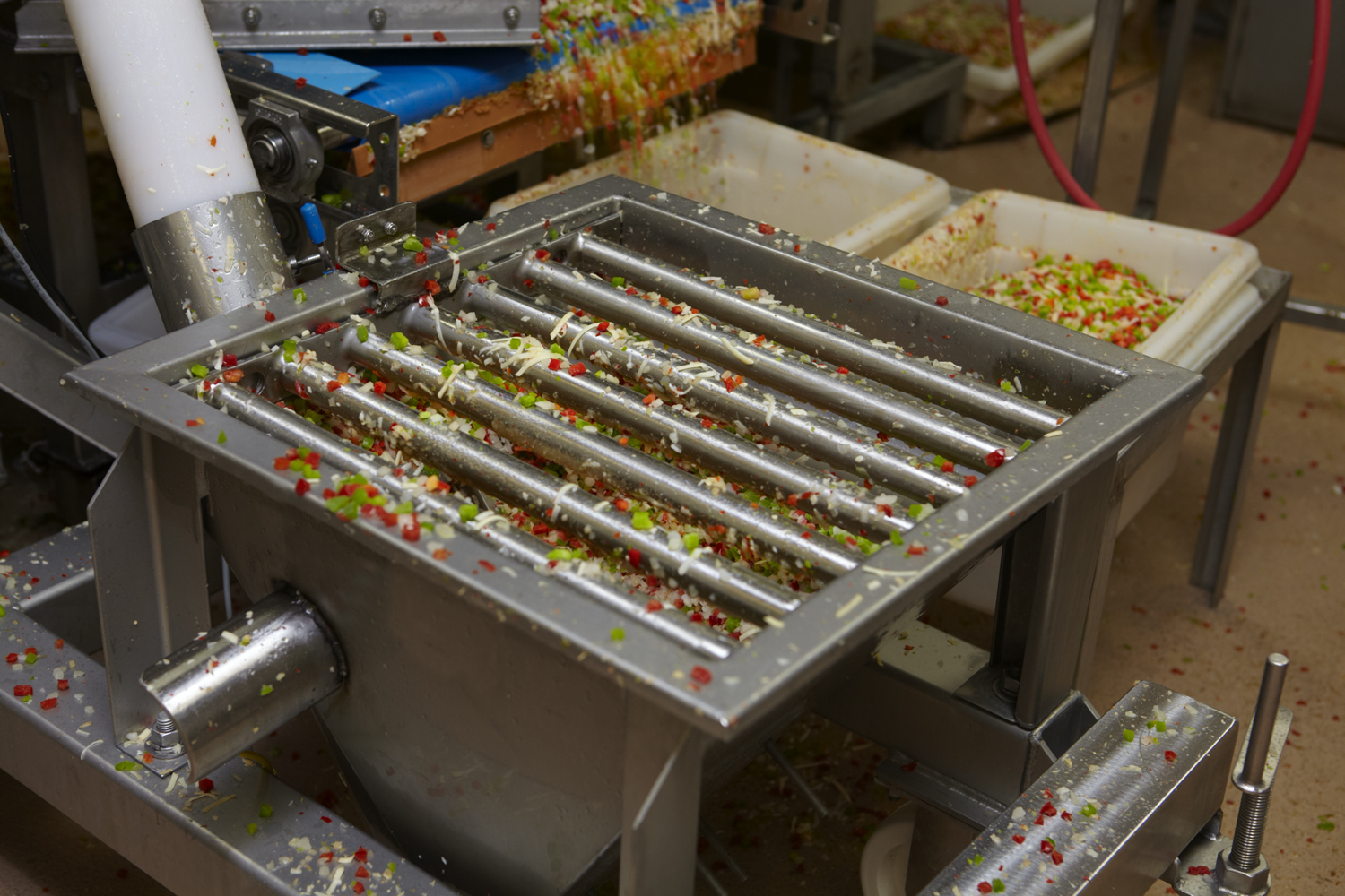 Permanent Grate Magnet food application 2