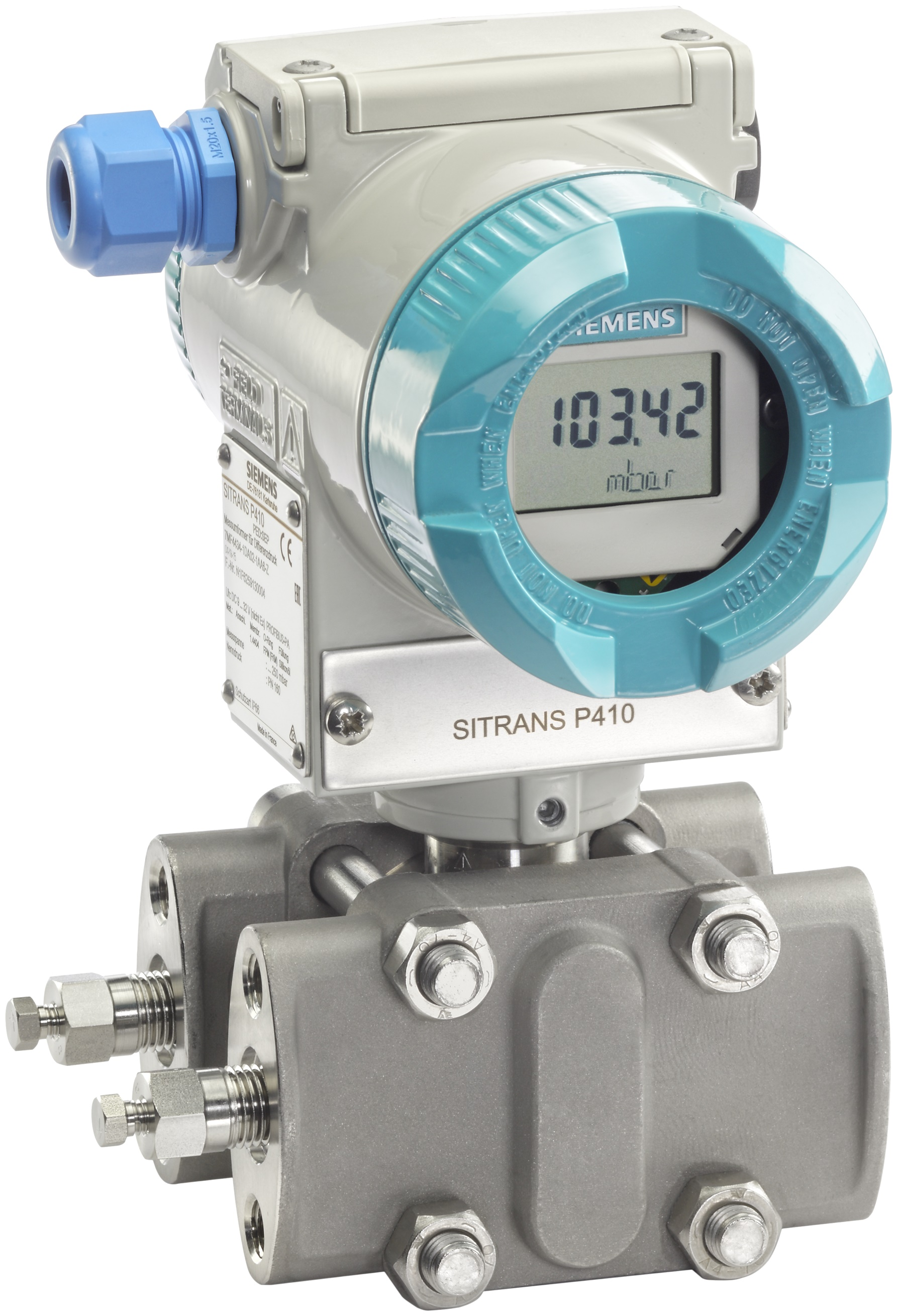 Digital Pressure Transmitter (P410) with support